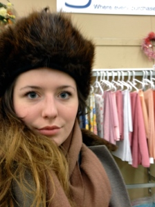 This hat was so big and puffy! I also kind of adored it.